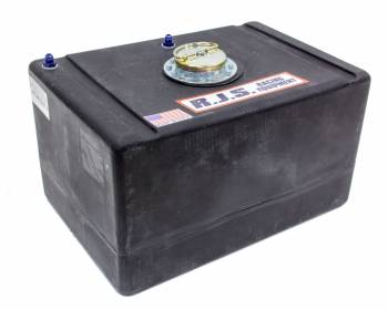 """RJS Racing Equipment - RJS Racing Equipment Economy Fuel Cell 22 gal 25-1/2 x 17-1/2 x 14-3/4"""" Tall 8AN Male Outlet - 6AN Male Vent"""