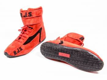 RJS Racing Equipment - RJS Racing Equipment Driving Shoe High-Top SFI-3.3/5 Nomex®/Leather - Red - 9 Mens 10-1/2 Womens