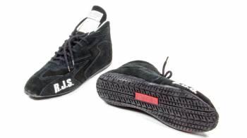 RJS Racing Equipment - RJS Redline Mid-Top Driving Shoes - Size 8 - Black