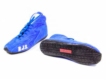 RJS Racing Equipment - RJS Redline Mid-Top Driving Shoes - Size 10 - Blue