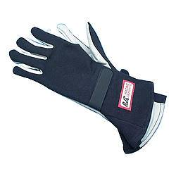 RJS Racing Equipment - RJS Nomex® 1 Layer Driving Gloves - X-Small - Black