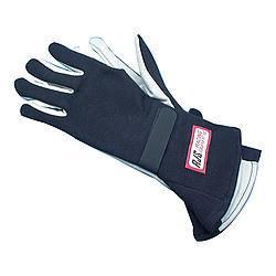 RJS Racing Equipment - RJS Nomex® 1 Layer Driving Gloves - Black - X-Large