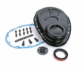 Comp Cams - COMP Cams SB Chevy Timing Cover w/ Welded Thrust Plate