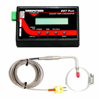 Computech Systems - Computech Systems E.G.T. Plus Race System Kit - Clamp-On Version w/ Single Probe