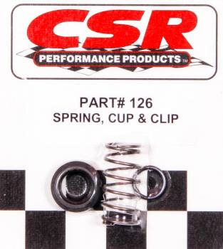 CSR Performance Products - CSR Performance Spring Retainer Cup & Clip