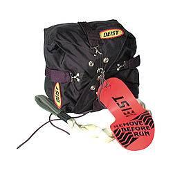 """Deist Safety - Deist 9"""" X 9"""" Black Chute Pack"""