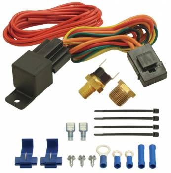 Derale Performance - Derale 180°F Fan Switch Relay Kit