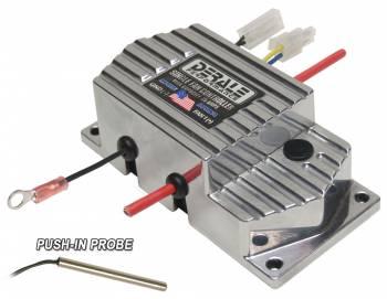 Derale Performance - Derale High Amperage Adjustable Single Electric Fan Controller, Push In Probe