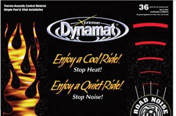"""Dynamat - Dynamat Extreme Mega Pak 9 Sheets 24"""" x 48"""""""