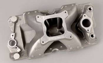 Dart Machinery - Dart Intake Manifold - SB Chevy - Std. Deck & Port Location, 4150 Flange