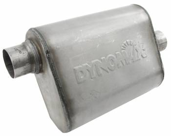 """DynoMax Performance Exhaust - Dynomax Ultra Flo™ Muffler - 3"""" In, Out - 14"""" Chamber Length, 19"""" Overall Length"""