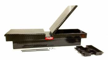 """Dee Zee - Dee Zee Red Label Truck Bed Tool Box Gull Wing Double Lid 69.75"""" Long 20"""" Wide - Aluminum"""