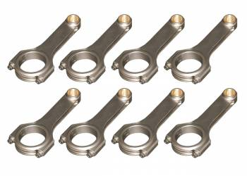 Eagle Specialty Products - Eagle BBC 4340 Forged H-Beam Rods 6.135 w/ARP2000