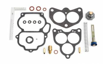 Edelbrock - Edelbrock 94 Carburetor Rebuild Kit - Includes Fuel Inlet Seat / Fuel Inlet Needle / Accelerator Pump / Pump Spring / Check Ball / Check Ball Retainer / Power Valve / Float Gauge / Gaskets