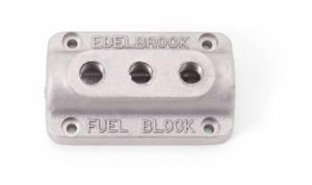 Edelbrock - Edelbrock Fuel Distribution Block - As Cast