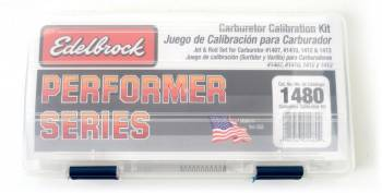 Edelbrock - Edelbrock Performer Series Carburetor Calibration Kit - For (1407/1410/1412/1413) Carburetors