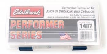 Edelbrock - Edelbrock Performer Series Carburetor Calibration Kit - For (1406) Carburetor