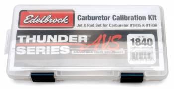 Edelbrock - Edelbrock Thunder Series AVS Jet / Rod Kit - For (1805/1806)