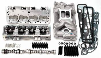 Edelbrock - Edelbrock SB Chevy Power Package Top End Kit