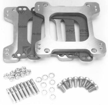 Edelbrock - Edelbrock Performer Series Carburetor Adapter - Standard Flange - Sideways