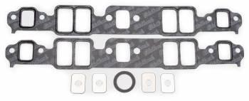 "Edelbrock - Edelbrock Intake Manifold Gasket Set - Composite - 2.09"" x 1.28"" Port - .060"" Thick - SB Chevy"