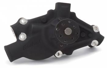 "Edelbrock - Edelbrock Victor-Pro Circle Track Water Pump - Short - Black - SB Chevy - 3/4"" Pilot Shaft"