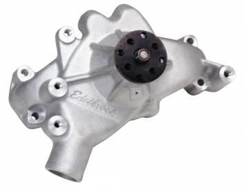 "Edelbrock - Edelbrock Victor Aluminum Water Pump - BB Chevy - Long-Style Pump - 5/8"" Pilot Shaft"
