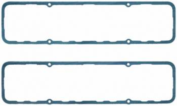 Fel-Pro Performance Gaskets - Fel-Pro Valve Cover Gasket - SB Chevy - Chevy 18° & Brodix -12, Cork-Lam w/ Steel Core