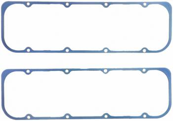 "Fel-Pro Performance Gaskets - Fel-Pro Silicone Rubber W, Steeel Core Valve Cover Gaskets - Chevrolet V8 262-400 - SB Chevy2, SB2.2 - 11, 64"" Thick"