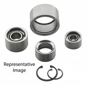 "FK Rod Ends - FK Rod Ends 1-7/16"" ID Spherical Bearing Cup 1-3/4"" OD 1"" Width Snap Ring - Steel"