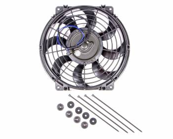 "Flex-A-Lite - Flex-A-Lite 12"" S-Blade Pusher, Puller Electric Fan - CFM: 925 - Amp Draw: 7.7"
