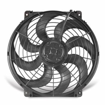 "Flex-A-Lite - Flex-A-Lite 16"" S-Blade Pusher, Puller Electric Fan - CFM: 1980 - Amp Draw: 13.5"