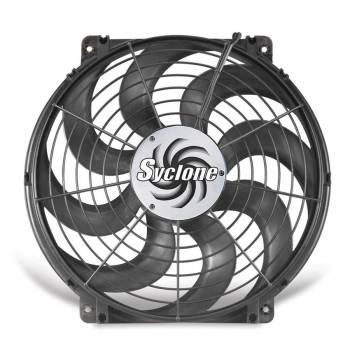 "Flex-A-Lite - Flex-A-Lite 16"" Syclone S-Blade Pusher, Puller Electric Fan - CFM: 2500 - Amp Draw: 17"