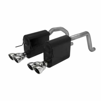 Flowmaster - Flowmaster Axle-back System 409S - Dual Rear Exit-Force II - Mild/Moderate Sound
