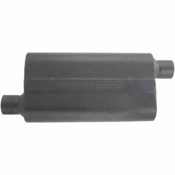 """Flowmaster - Flowmaster 50 Series Delta Flow Muffler - 2.5"""" Offset - Inlet / Opposite Side Offset Outlet"""