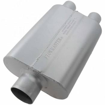 "Flowmaster - Flowmaster 40 Series Delta Flow Muffler - 3"" Center Inlet / 2.25"" Dual Outlet"