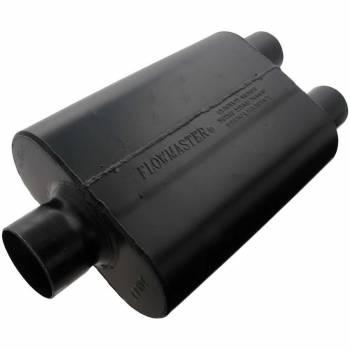 """Flowmaster - Flowmaster Super 44 Delta Flow Muffler - 3"""" Center Inlet / 2.5 Dual Outlet"""