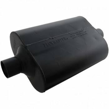 """Flowmaster - Flowmaster Super 40 Delta Flow Muffler - 2.25"""" Center Inlet / Outlet"""
