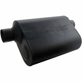 "Flowmaster - Flowmaster Super 40 Delta Flow Muffler - 2.5"" Offset - Inlet / Same Side Offset Outlet"