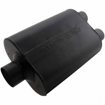 """Flowmaster - Flowmaster Super 40 Delta Flow Muffler - 3"""" Center Inlet / 2.5 Dual Outlet"""