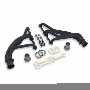 "Flowtech - Flowtech Long Tube Headers - 1966-87 Chevy/GMC 1500/2500/3500/1988-91 Chevy/GMC 1-Ton Crew Cab - 283/400 - 1.5"" - 3"" Collector - Black Paint"