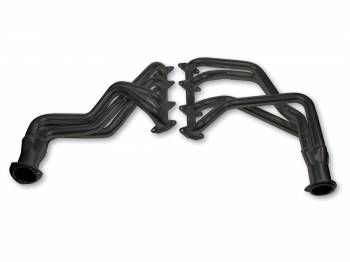 "Flowtech - Flowtech Long Tube Headers - 1965-76 Ford F100/150 4WD/19 67-76 F250 - 332-428 - 1.75"" - 3"" Collector - Black Paint"