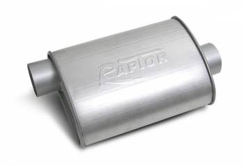 """Flowtech - Flowtech Raptor Turbo Performance Muffler - 3"""" Inlet/Outlet"""