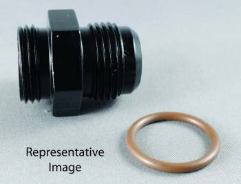 Fragola Performance Systems - Fragola AN Port O-Ring Adapter -10 AN x 7/8-14 (-10 AN)- Black