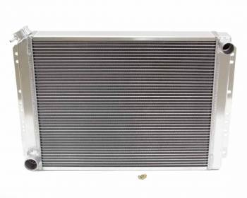 """Griffin Thermal Products - Griffin Thermal Products Direct Fit Radiator 22-1/2"""" W 19"""" H x 2-11/16"""" D Pass Inlet/Driver Outlet Aluminum - Natural"""