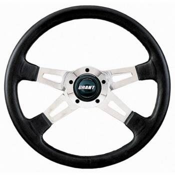 """Grant Steering Wheels - Grant Polished Collector's Edition Steering Wheel - 14"""" - Black"""