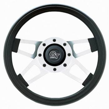 "Grant Steering Wheels - Grant Challenger Series Steering Wheel - 13 1/2"" - Black / White"