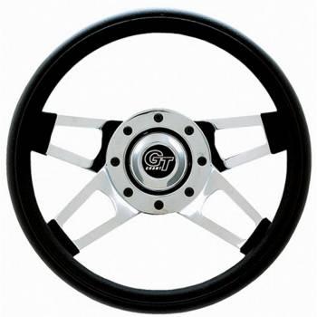 "Grant Steering Wheels - Grant Challenger Series Steering Wheel - 13 1/2"" - Black / Chrome"