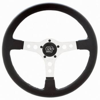 """Grant Steering Wheels - Grant Formula GT Steering Wheel - 14"""" - Black / Silver"""