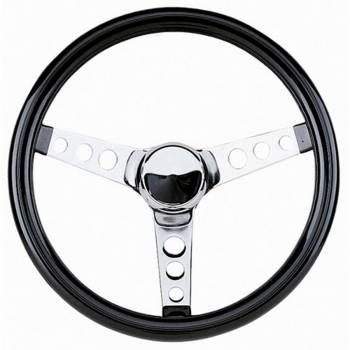 "Grant Steering Wheels - Grant Classic Cruisin' Steering Wheel - 12 1/2"" - Black / Chrome"